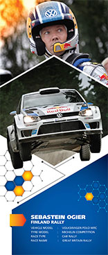 Ad Creation for Michelin - Sebastein Ogier