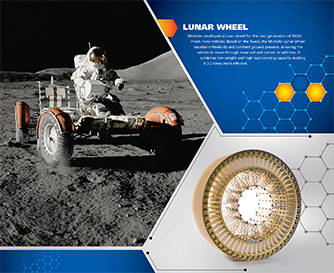 Ad Creation for Michelin - Lunar Wheels